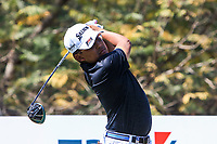 Nicholas Fung (MAS) in action on the 11th during Round 3 of the Hero Indian Open at the DLF Golf and Country Club on Saturday 10th March 2018.<br /> Picture:  Thos Caffrey / www.golffile.ie<br /> <br /> All photo usage must carry mandatory copyright credit (&copy; Golffile | Thos Caffrey)