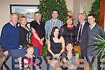 Enjoying the FBD Christmas party in the Brehon Hotel Killarney on Friday night front row l-r: Tracey Hannigan, Geraldine Hennessy, Siobhain Woulfe-Browne. Back row: Michael O'Sullivan, Mary Crowley, Pam Dillane, Mike Knighton, Margaret Maunsell, Michael O'Mahony and JP Aherne