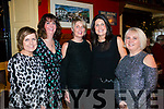 Celebrating ladies christmas at the Landsdowne Hotel, Kenmare on Saturday 6th. <br /> L-R: Noreen Sweeney, Caitriona Brown, Denise O'Sullivann, Pauline O'Sullivan and Anna Marie O'Sullivan.