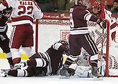 Matt Firman (Colgate - 15), Austin Mayer (Colgate - 19), Steve Michalek (Harvard - 34) (Ford) - The Harvard University Crimson defeated the visiting Colgate University Raiders 4-2 on Saturday, November 12, 2011, at Bright Hockey Center in Cambridge, Massachusetts.