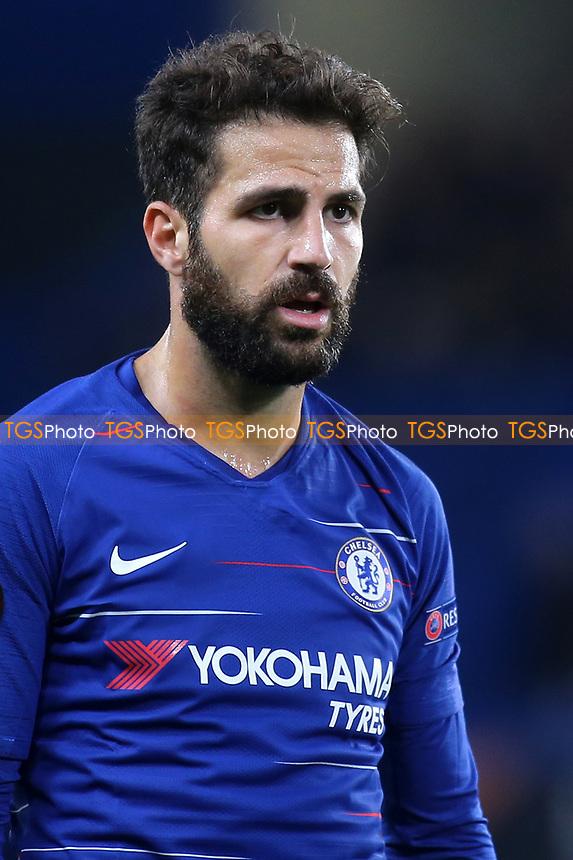 Cesc Fabregas of Chelsea during Chelsea vs MOL Vidi, UEFA Europa League Football at Stamford Bridge on 4th October 2018