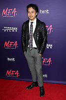 "LOS ANGELES - OCT 2:  David Huynh at the ""M.F.A."" Premiere at the The London West Hollywood on October 2, 2017 in West Hollywood, CA"