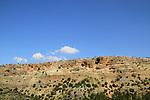 Israel, Upper Galilee, Keshet Cave in Adamit Park