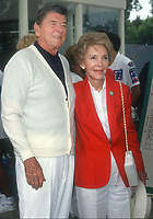 Ronald & Nancy Reagan<br /> 1990s<br /> Photo By Michael Ferguson/CelebrityArchaeology.com