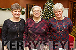 Josie Dalton, Mary Fitzgerald and Ann Farrelly enjoying Womens Christmas in O'Donnells Bar, Mounthawk on Sunday