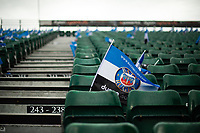 A general view of a Bath Rugby flag in the east stand. Heineken Champions Cup match, between Bath Rugby and Stade Toulousain on October 13, 2018 at the Recreation Ground in Bath, England. Photo by: Patrick Khachfe / Onside Images