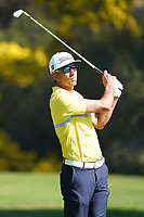 Rafa Cabrera Bello (ESP) In action during the final round of the The Genesis Invitational, Riviera Country Club, Pacific Palisades, Los Angeles, USA. 15/02/2020<br /> Picture: Golffile | Phil Inglis<br /> <br /> <br /> All photo usage must carry mandatory copyright credit (© Golffile | Phil Inglis)