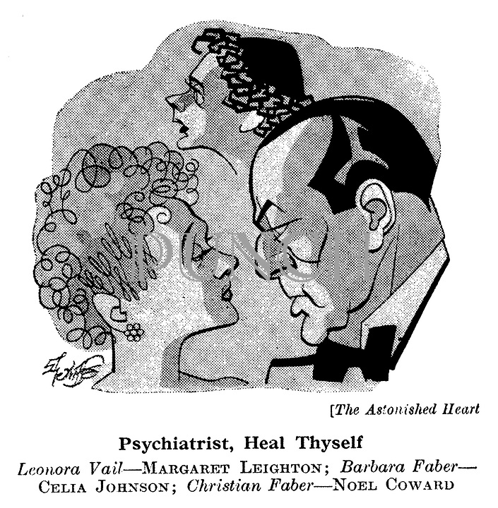 The Astonished Heart ; Margaret Leighton , Celia Johnson and Noel Coward