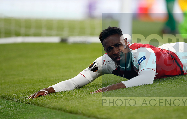 Arsenal's Danny Welbeck looks on dejected during the Europa League Semi Final 1st Leg, match at the Emirates Stadium, London. Picture date: 26th April 2018. Picture credit should read: David Klein/Sportimage
