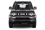 Car photography straight front view of a 2014 Suzuki JIMNY JLX X-Citement 3 Door SUV 4WD Front View