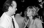 Bill Murray and Penny Marshall attends a Barbecue at Gracie Mansion on June 1, 1988 in New York City.