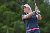 Jacqui Concolino (USA) watches her tee shot on 12 during round 1 of  the Volunteers of America LPGA Texas Classic, at the Old American Golf Club in The Colony, Texas, USA. 5/4/2018.<br /> Picture: Golffile | Ken Murray<br /> <br /> <br /> All photo usage must carry mandatory copyright credit (&copy; Golffile | Ken Murray)