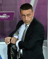 FUSSBALL  EUROPAMEISTERSCHAFT 2012   VORRUNDE Deutschland - Portugal          09.06.2012 Trainer Paulo Bento (Portugal)