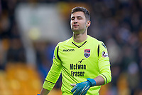 29th December 2019; McDairmid Park, Perth, Perth and Kinross, Scotland; Scottish Premiership Football, St Johnstone versus Ross County; Nathan Baxter of Ross County  - Editorial Use