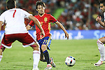 Spain's David Silva during the up match between Spain and Georgia before the Uefa Euro 2016.  Jun 07,2016. (ALTERPHOTOS/Rodrigo Jimenez)