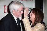 Phil Donahue & Marlo Thomas.attending the Broadway Opening Night Performance of 'EVITA' at the Marquis Theatre in New York City on 4/5/2012 © Walter McBride / WM Photography