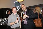 Cardiff, WALES - November 22:.Otley Brewery event at the Radisson Blu Hotel.Matt Appleby & Douglas Friedli.22.11.12..©Steve Pope