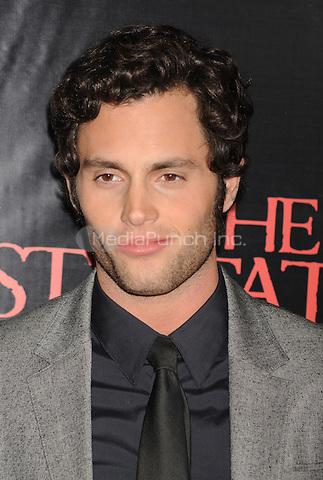 Penn Badgley attends the premiere of 'The Stepfather' at the SVA Theater in New York City. October 12, 2009.. Credit: Dennis Van Tine/MediaPunch