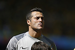 Julio Cesar (BRA), JUNE 28, 2014 - Football / Soccer : FIFA World Cup Brazil 2014 round of 16 match between Brazil and Chile at the Mineirao Stadium in Belo Horizonte, Brazil. (Photo by AFLO)