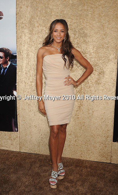 """HOLLYWOOD, CA. - June 16: Dania Ramirez arrives at the """"Entourage"""" Season Seven Premiere at Paramount Theater on the Paramount Studios lot on June 16, 2010 in Hollywood, California."""