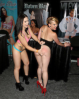 Edyn Blair, Miley May ay Exxxotica Atlantic City, NJ, <br /> Saturday April 12, 2014.