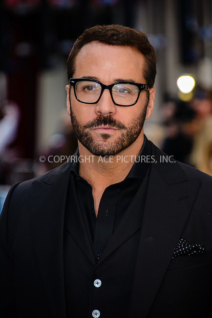 WWW.ACEPIXS.COM<br /> <br /> June 9 2015, London<br /> <br /> Jeremy Piven arriving at The European Premiere of Entourage at the Vie West End on June 9 2015 in London<br /> <br /> By Line: Famous/ACE Pictures<br /> <br /> <br /> ACE Pictures, Inc.<br /> tel: 646 769 0430<br /> Email: info@acepixs.com<br /> www.acepixs.com