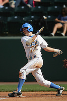 March 20, 2010: Tyler Brown (11) of UCLA during game against Oral Roberts at UCLA in Los Angeles,CA.  Photo by Larry Goren/Four Seam Images