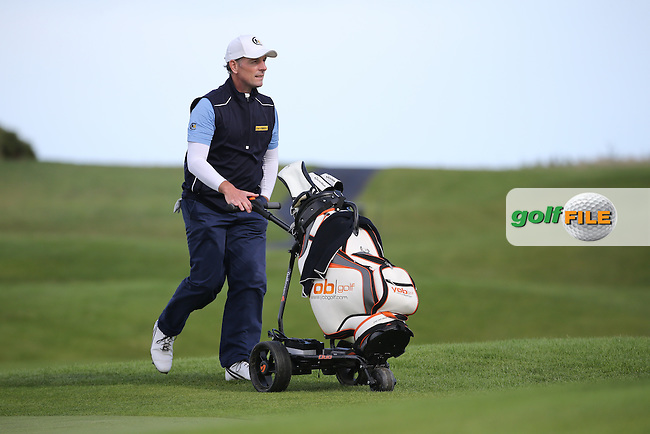 David Higgins (Waterville Golf Links) during the final round of  The 106th Irish PGA Championship, at the Moy Valley Hotel & Golf Resort, Kildare, Ireland.  25/09/2016. Picture: David Lloyd | Golffile.