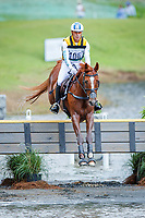 AUS-Andrew Hoy rides Vassily de Lassos during the Cross Country for the FEI World Team and Individual Eventing Championship. Interim-11th. 2018 FEI World Equestrian Games Tryon. Saturday 15 September. Copyright Photo: Libby Law Photography
