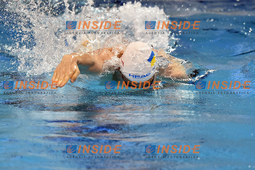 Andrii GOVOROV UKR Mixed 4x50m Freestyle Relay <br /> Doha Qatar 06-12-2014 Hamad Aquatic Centre, 12th FINA World Swimming Championships (25m). Nuoto Campionati mondiali di nuoto in vasca corta.<br /> Photo Andrea Staccioli/Deepbluemedia/Insidefoto