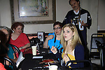 """General Hospital's Jen Lilley """"ex-Maxie"""" and fans at Uncle Vinnie's Comedy Club on September 9, 2012 in Pt. Pleasant, New Jersey to see their fans for autographs, meet/greet and photos.  (Photo by Sue Coflin/Max Photos)"""