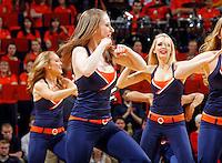 Virginia  dance team performs during an NCAA basketball game Saturday Feb, 24, 2014 in Charlottesville, VA. Virginia defeated Miami 65-40.
