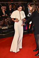 Michelle Rodriguez<br /> Widows opening gala ilm screeningat BFI London Film Festival<br /> In Leicester Square, London, England on October 10, 2018.<br /> CAP/PL<br /> ©Phil Loftus/Capital Pictures