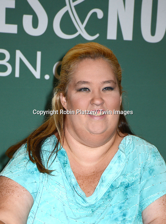 """June Shannon at a book signing for """"How To Honey Boo Boo"""" on July 15, 2013 at Barnes & Noble  in the Citicorp Building in New York City."""