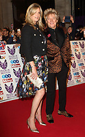 Penny Lancaster and Rod Stewart at the Pride Of Britain Awards held at Grosvenor House, Park Lane, London, UK on the 30th October 2017<br /> CAP/ROS<br /> &copy;ROS/Capital Pictures /MediaPunch ***NORTH AND SOUTH AMERICAS ONLY***
