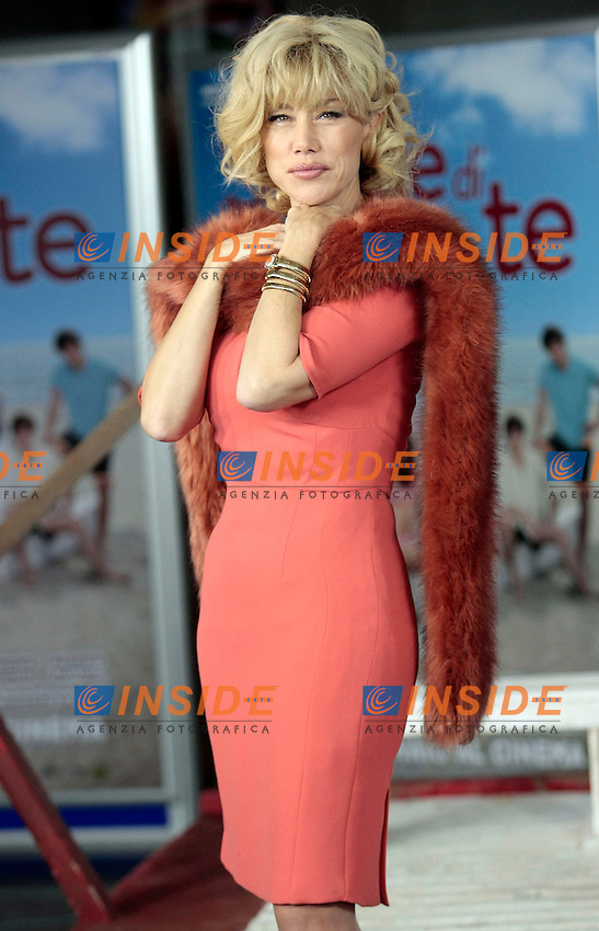 Nancy Brilli<br /> Roma 08-01-2014 Cinema Adriano, Sapore di Te - Photocall<br /> Photo Samantha Zucchi Insidefoto