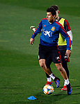 Spanish Rodri during the training of the spanish national football team in the city of football of Las Rozas in Madrid, Spain. March 18, 2019. (ALTERPHOTOS/Manu R.B.)