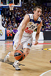 Real Madrid's Jaycee Carroll during quarter final of Turkish Airlines Euroleague match between Real Madrid and Darussafaka Dogus at Wizink Center in Madrid, April 20, 2017. Spain.<br /> (ALTERPHOTOS/BorjaB.Hojas)