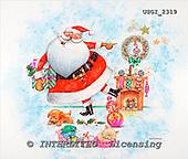 GIORDANO, CHRISTMAS SANTA, SNOWMAN, WEIHNACHTSMÄNNER, SCHNEEMÄNNER, PAPÁ NOEL, MUÑECOS DE NIEVE, paintings+++++,USGI2319,#X#