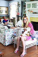 Meghan Boody and son portrait