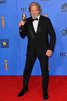 LOS ANGELES, CA. January 06, 2019: Jeff Bridges at the 2019 Golden Globe Awards at the Beverly Hilton Hotel.<br /> Picture: Paul Smith/Featureflash