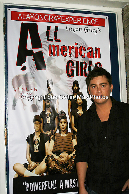 - Opening Night - Brandon Buddy attends in Layon Gray's All American Girls on August 25, 2010 at The Actors Temple, New York City, New York. (Photos by Sue Coflin)