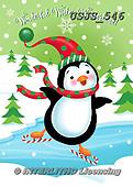 Janet, CHRISTMAS ANIMALS, WEIHNACHTEN TIERE, NAVIDAD ANIMALES, paintings+++++,USJS546,#xa# ,penguins