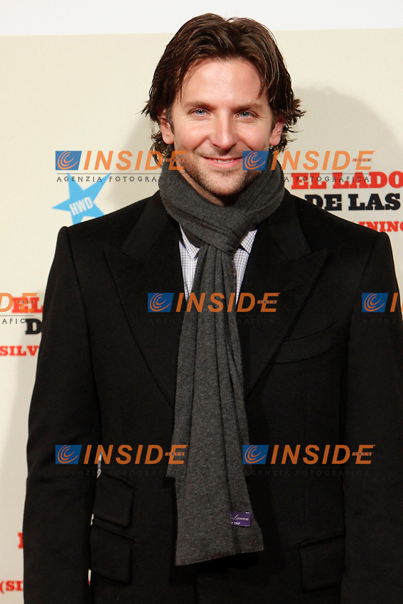 Bradley Cooper .Madrid 16/1/2013 Callao Cinema .Silver Linings Playbook premiere .Foto ALTERPHOTOS/Caro Marin/Insidefoto.ITALY ONLY