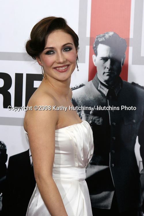 """Carice Van Houten  arriving at the LA  Premiere of """"Valkyrie"""" at the Director's Guild of America Theater in Los Angeles, CA on December 18, 2008.©2008 Kathy Hutchins / Hutchins Photo..                ."""