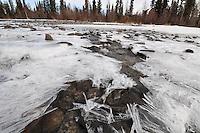 Skilak lake spring melt