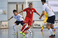 Sebastian Wojciechowski of Poland controls the ball during England vs Poland, International Futsal Friendly at St George's Park on 2nd June 2018