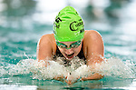 Cottonwood's Erin Morgan competes in the 100 yard IM race during the 53rd annual Country Club Swimming Championships on Tuesday, Aug. 7, 2012, in Kearns, Utah. (© 2012 Douglas C. Pizac)