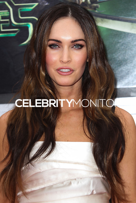 WESTWOOD, LOS ANGELES, CA, USA - AUGUST 03: Megan Fox at the Los Angeles Premiere Of Paramount Pictures' 'Teenage Mutant Ninja Turtles' held at Regency Village Theatre on August 3, 2014 in Westwood, Los Angeles, California, United States. (Photo by Celebrity Monitor)