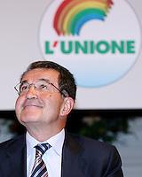 Roma 06 07 2005 Prodi al Consiglio Generale degli Italiani all'Estero <br /> Nella foto il leader dell'Unione Romano Prodi<br /> Photo: Serena Cremaschi Insidefoto